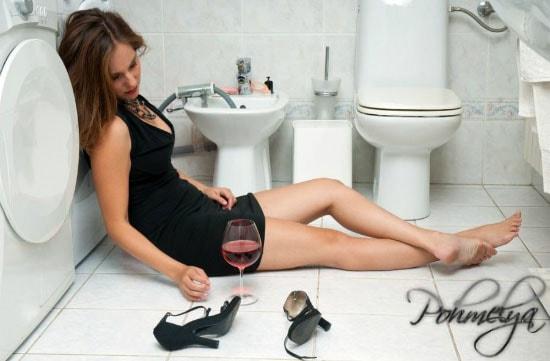 Тошнота после алкоголя