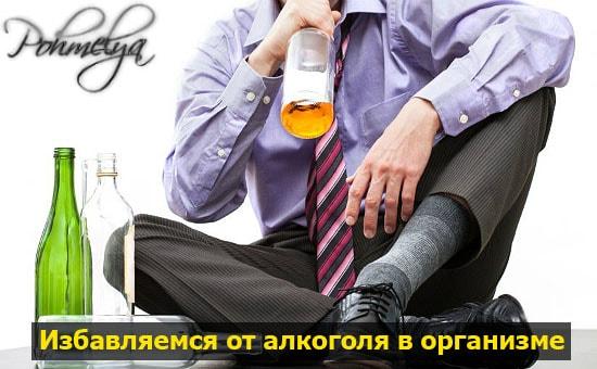 Очищение организма от алкоголя домашние условия