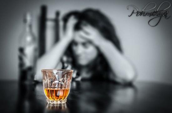 зависимость к алкоголю