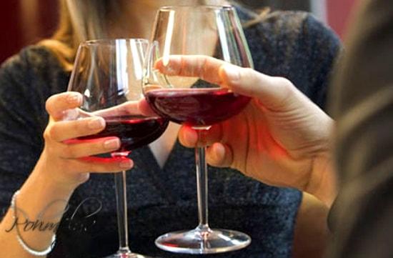 вино при температуре
