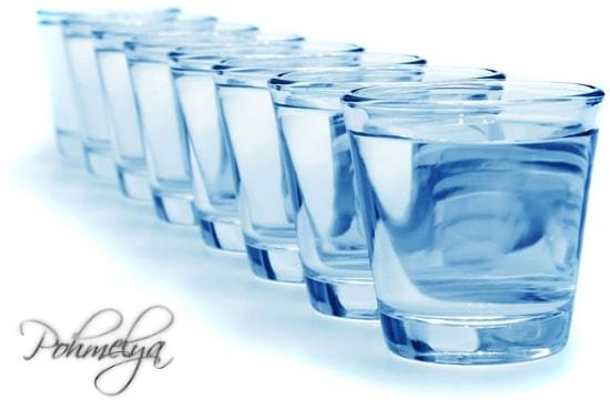употребление воды от алкоголя