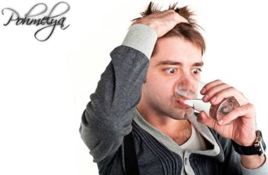 употребление воды после алкоголя