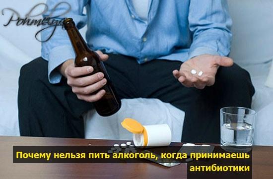 Сколько дней нельзя пить после антибиотиков