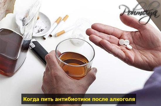 На какой день можно употреблять спиртное после курса лекарств