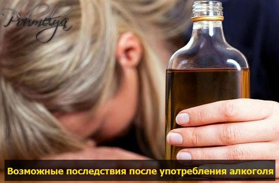 posledstvia prinatia alkogolya pohmelya v238 min