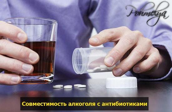Почему нельзя употреблять алкоголь с антибиотиками