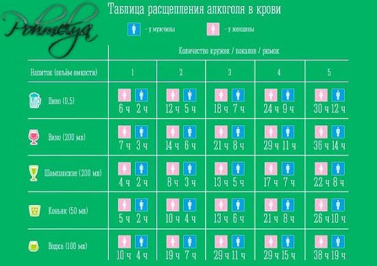 tablica rasheplenia alkogolya v krovi pohmelya v644 min