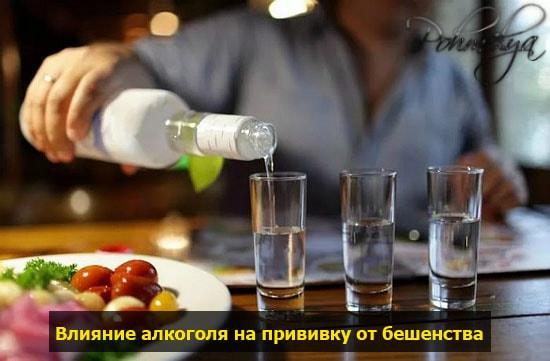 Можно ли употреблять алкоголь после прививки