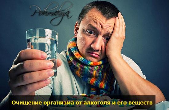 Очистка организма при алкоголизме