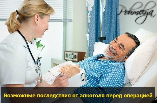 posledstvia alkogolya pered operaciey pohmelya v2112 min
