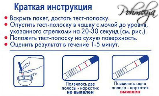 Тест на никотин отзывы