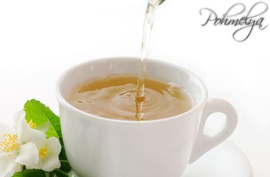 чашка чая после алкоголя
