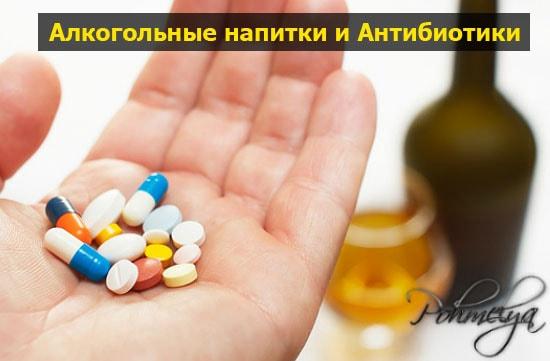 alkogol i antibiotik pohmelya b62 min