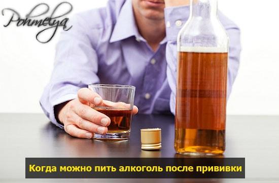 pit alcohol posle privivki pohmelya v526 min