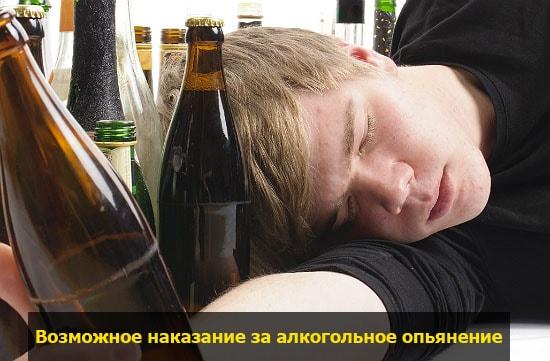 nakazanie za alkogolnoe opyanenie pohmelya v1597 min