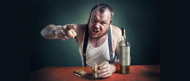 От чего человек быстро пьянеет